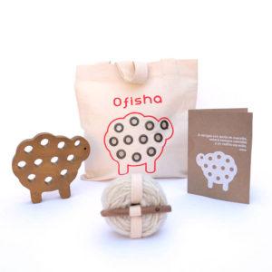 Ofisha: Oveja de madera nativa
